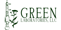 Green Laboratories LLC. Logo